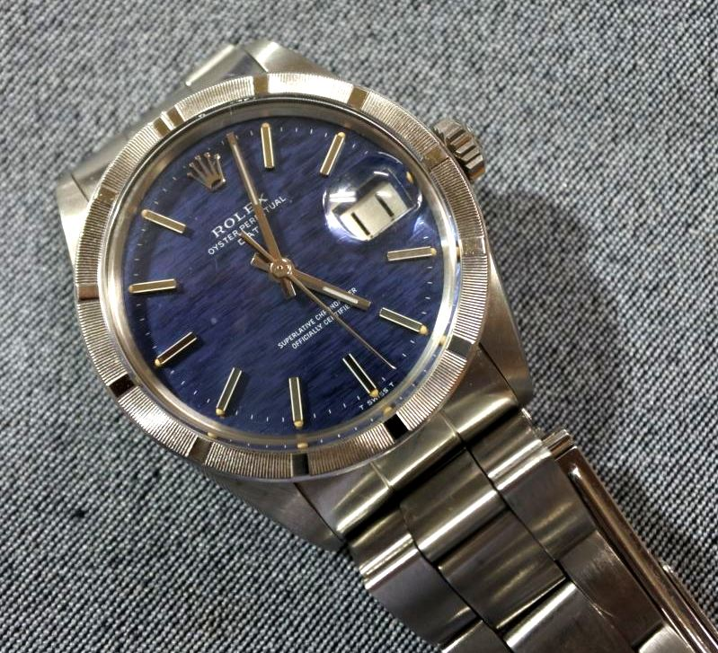 買取 ブランド腕時計 ロレックス オイスターパーペチュアル 盛岡 まねき堂