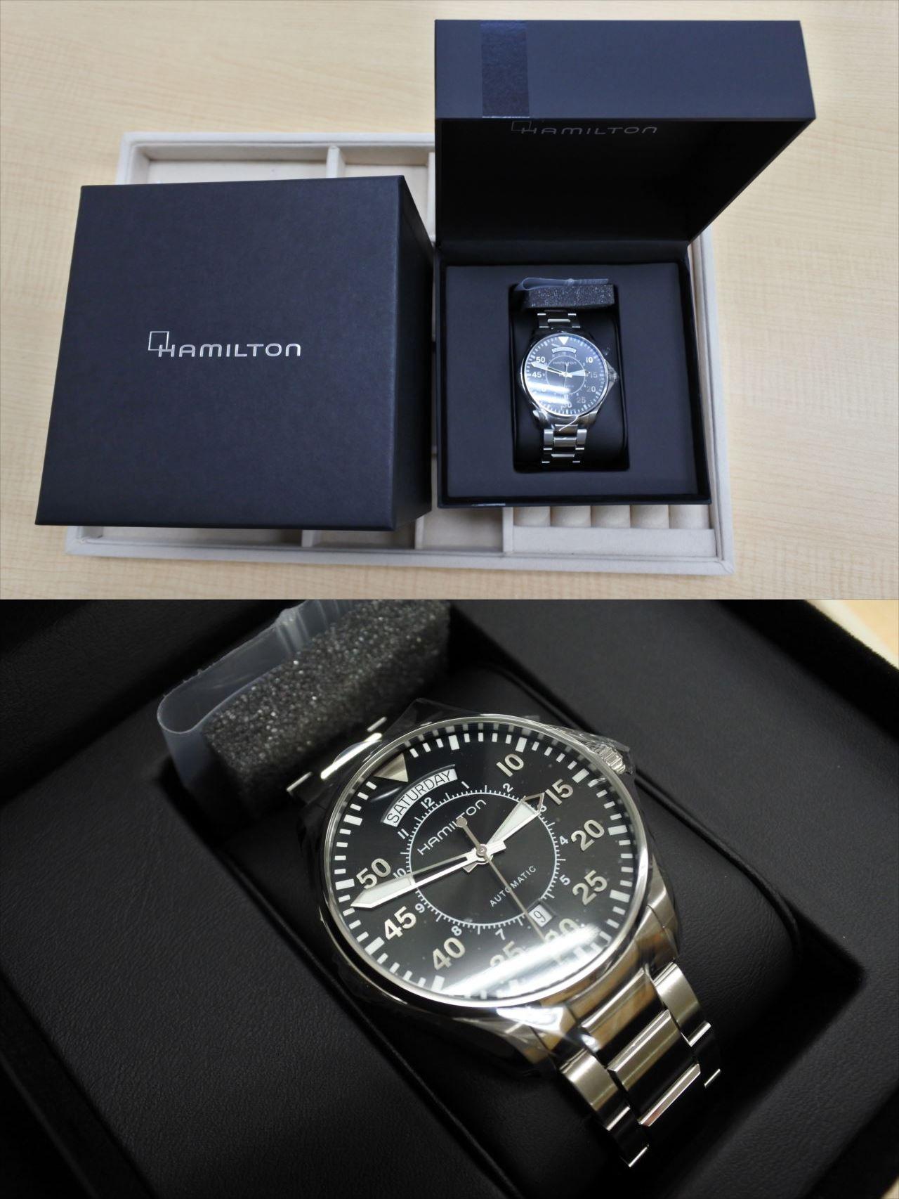 買取 ブランド腕時計 ハミルトン 盛岡 まねき堂