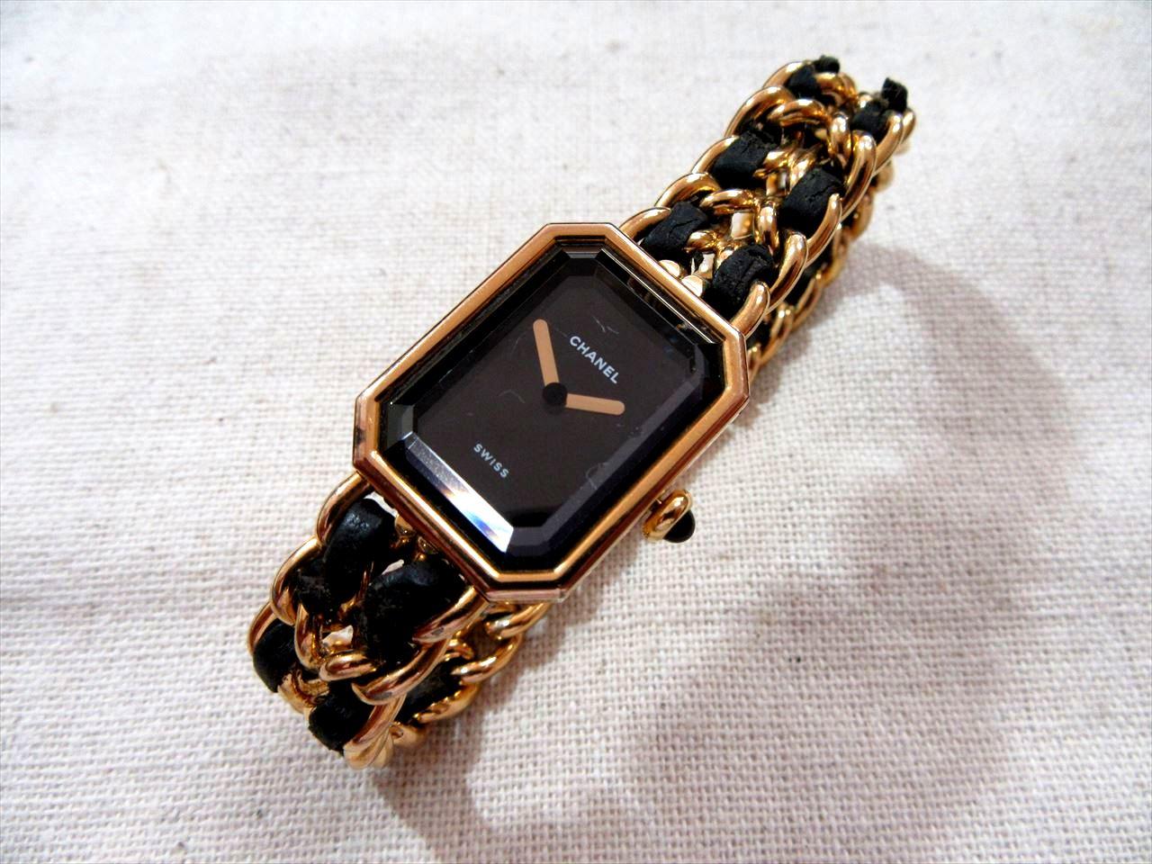 買取 ブランド腕時計 シャネル プルミエール 盛岡 まねき堂