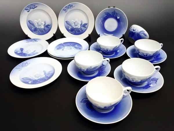 買取 ブランド食器 陶器 ビングオーグレンダール B&G 盛岡 まねき堂