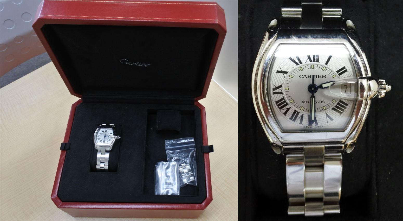 買取 ブランド腕時計 カルティエ 盛岡 まねき堂
