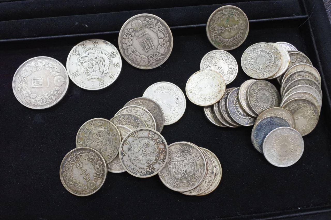 買取 古銭 銀貨 盛岡 まねき堂