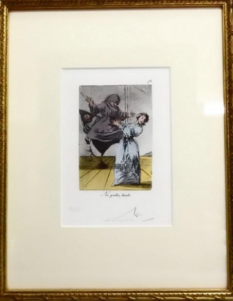 絵画の高価買取 盛岡 まねき堂|サルバドール・ダリの版画をお買取しました。
