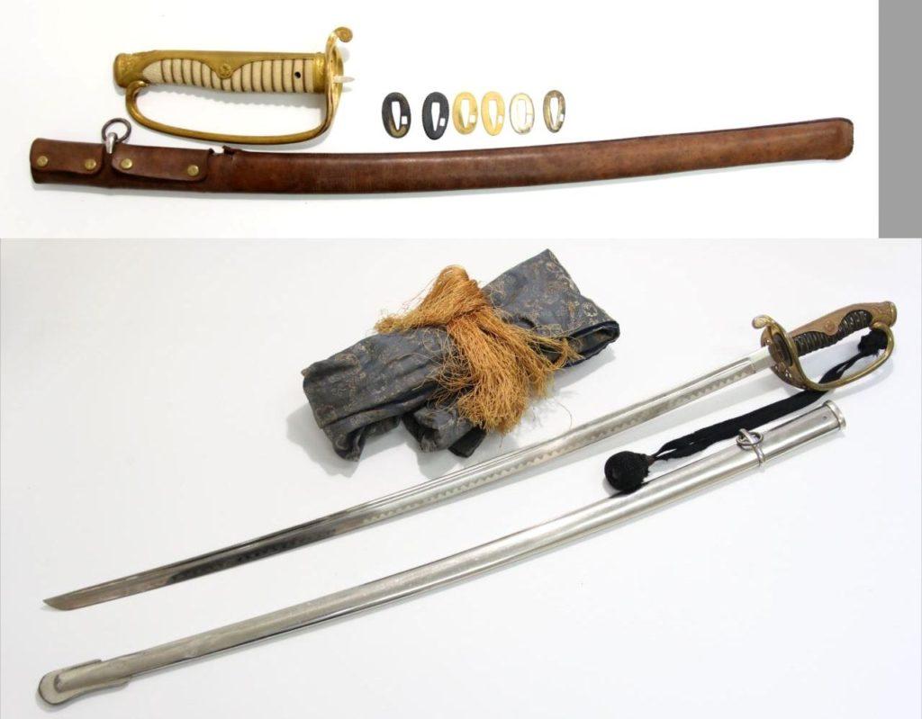 買取 刀剣 サーベル 軍刀 盛岡 まねき堂