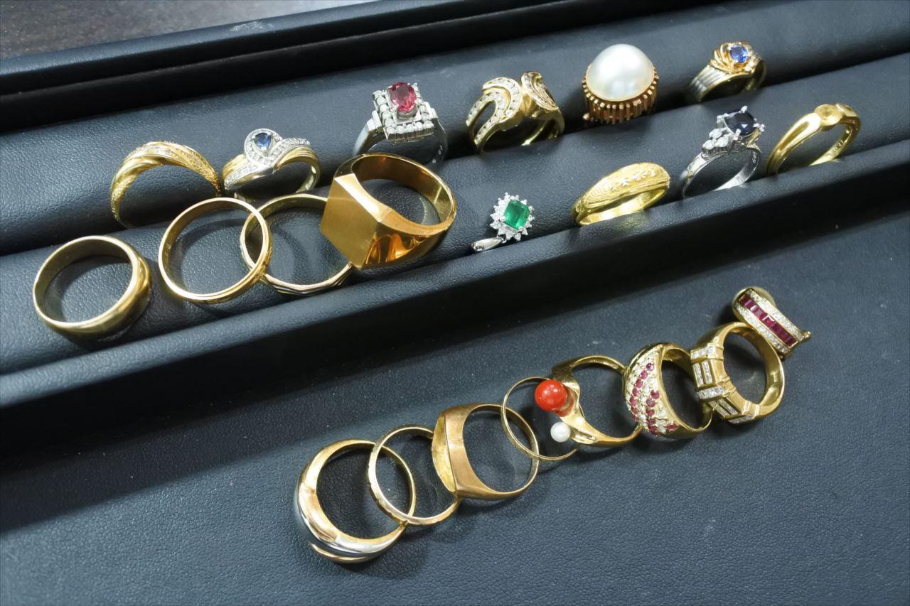 買取 金 プラチナ 宝石 指輪 盛岡 まねき堂