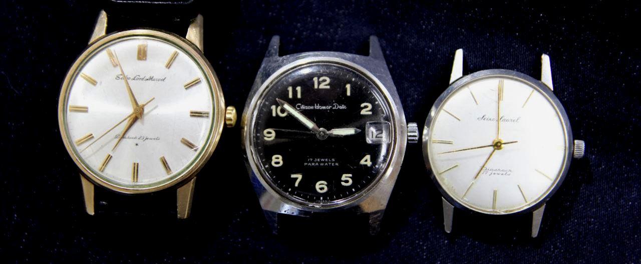 買取 腕時計 セイコー シチズン ビンテージ 盛岡 まねき堂