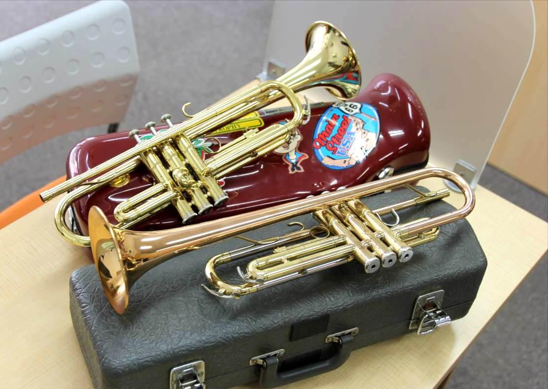 買取 楽器 管楽器 ギター トランペット サックス 盛岡 まねき堂