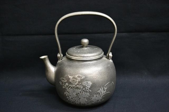 茶道具 急須 錫器 買取 盛岡 まねき堂