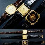 買取 ブランド腕時計 ロンジン ボームアンドメルシエ レビュートーメン 18金 盛岡 まねき堂
